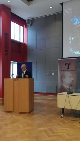 Speaker of the Estonian Parliament, Mr. Eiki Nestor